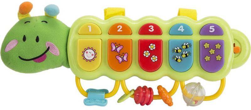Музыкальная игрушка WinFun Гусеничка, O215-NL музыкальная игрушка мир детства счастливая гусеничка
