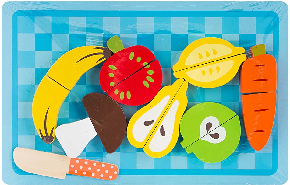 Игровой набор Игруша Фрукты и овощи, i-931054