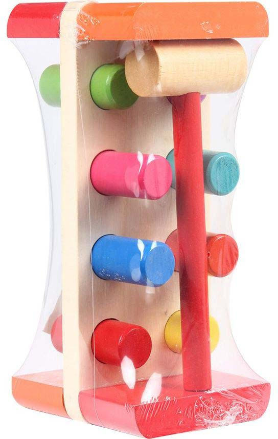 Фото - Развивающая игрушка Игруша Гвоздики, i-000053 мир деревянных игрушек развивающая игрушка стучалка шарик и гвоздики