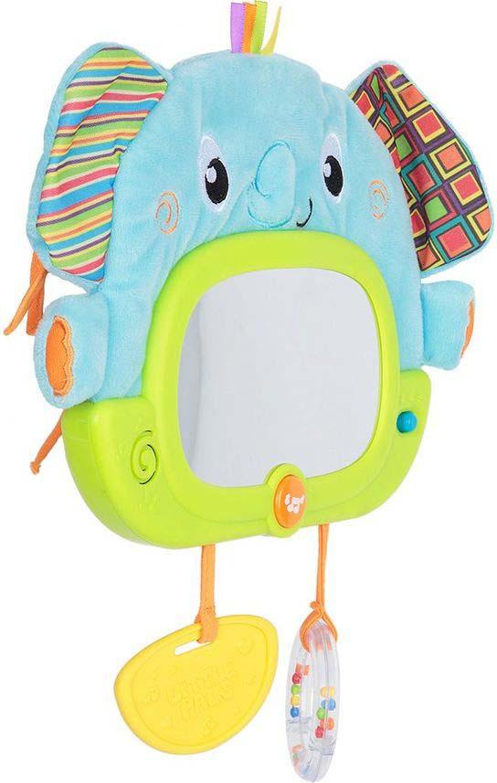 Развивающая игрушка WinFun Слон, на кроватку, на батарейках, O0175-NL