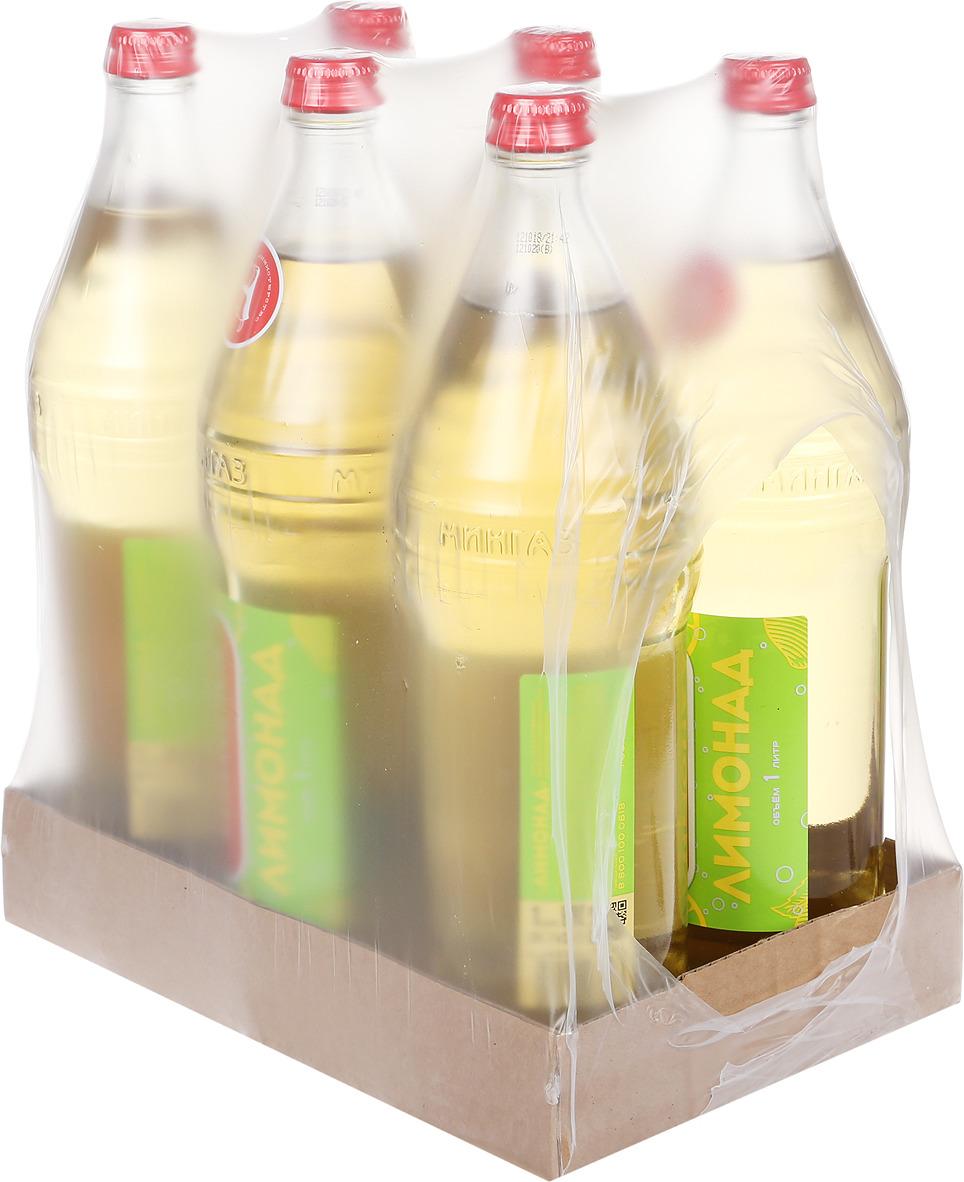 Лимонад Министерство Газировки Лимонад, 6 шт по 1 л лимонад fruktomania лимонад оригинальный 6 шт по 1 5 л