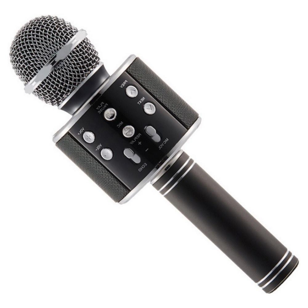 Микрофон Migliores Караоке, черный караоке handheld ktv ws 1816r red