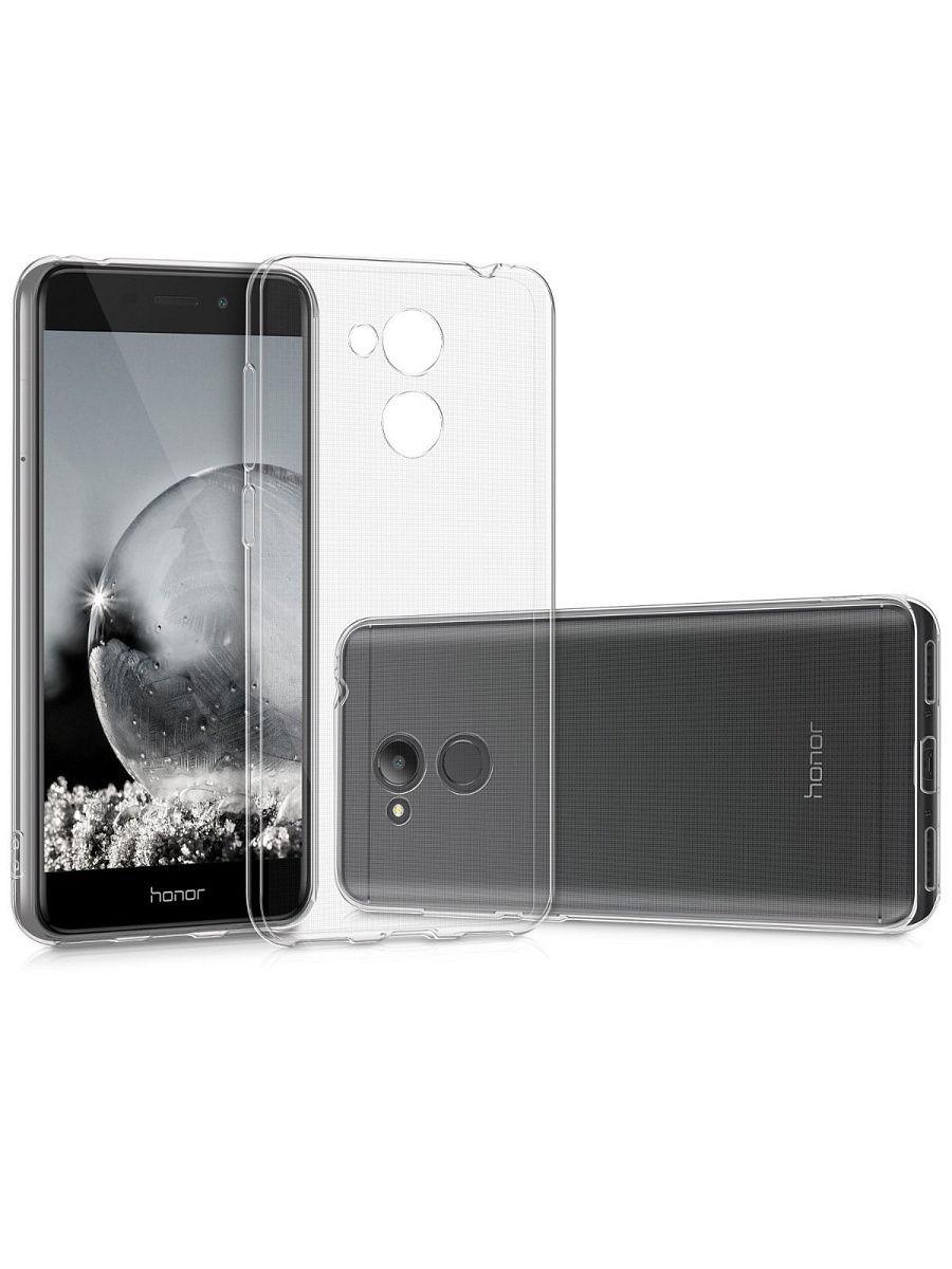 """Чехол для сотового телефона UVOO """"Mono"""" для Huawei Honor 6C, прозрачный"""