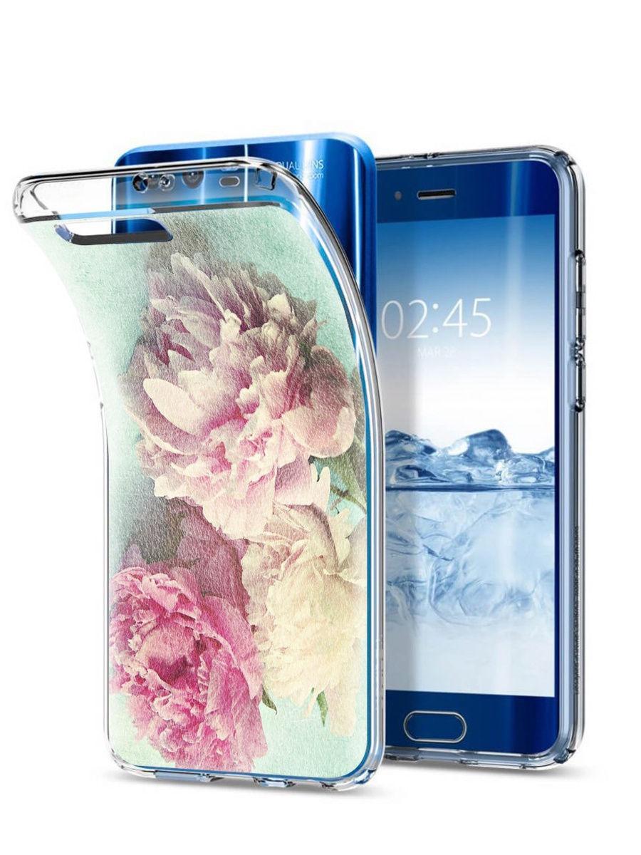 Чехол для сотового телефона With love. Moscow Art design Huawei Honor 9, голубой