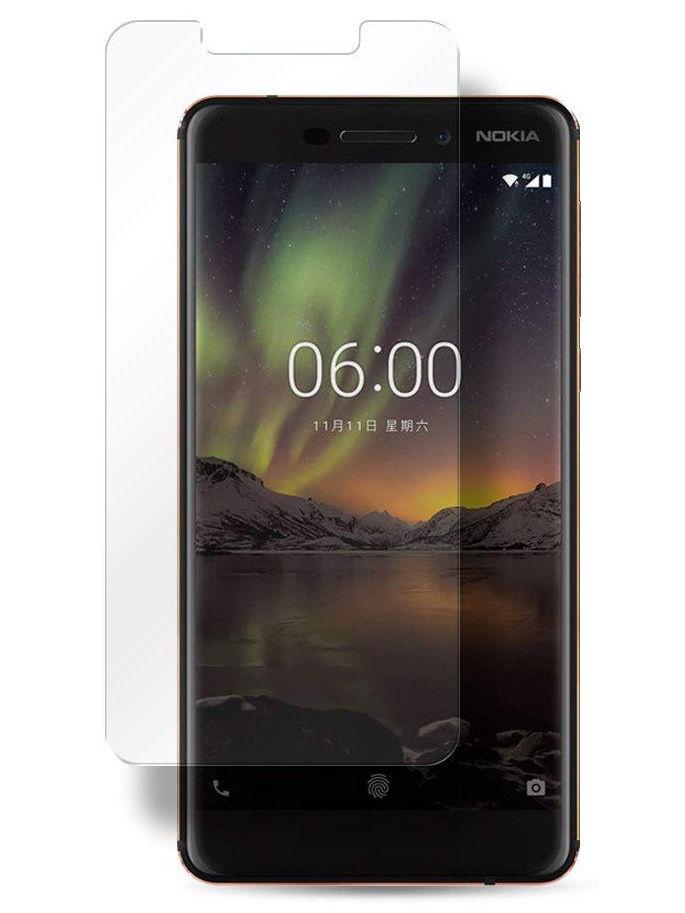 """Защитное стекло UVOO """"2D"""" для Nokia 6, прозрачный"""