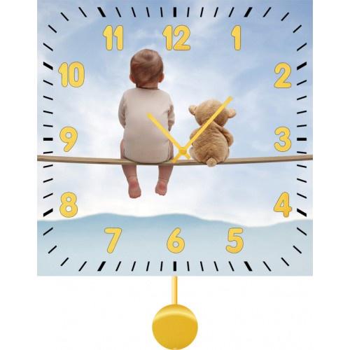 Настенные часы Kids Dream 30120453012045Механизм: Кварцевый. Корпус: Дерево. Размер: Диаметр 30 см