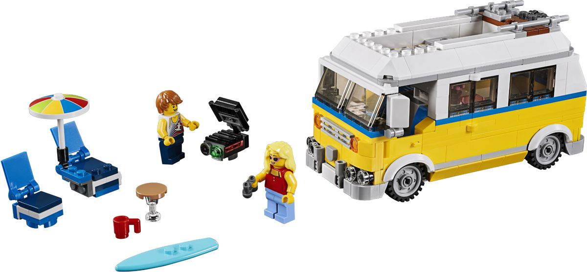 Пластиковый конструктор LEGO 31079