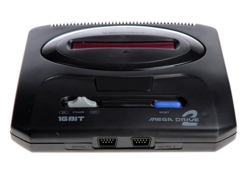 Игровая приставка MegaDrive VG1602 черный