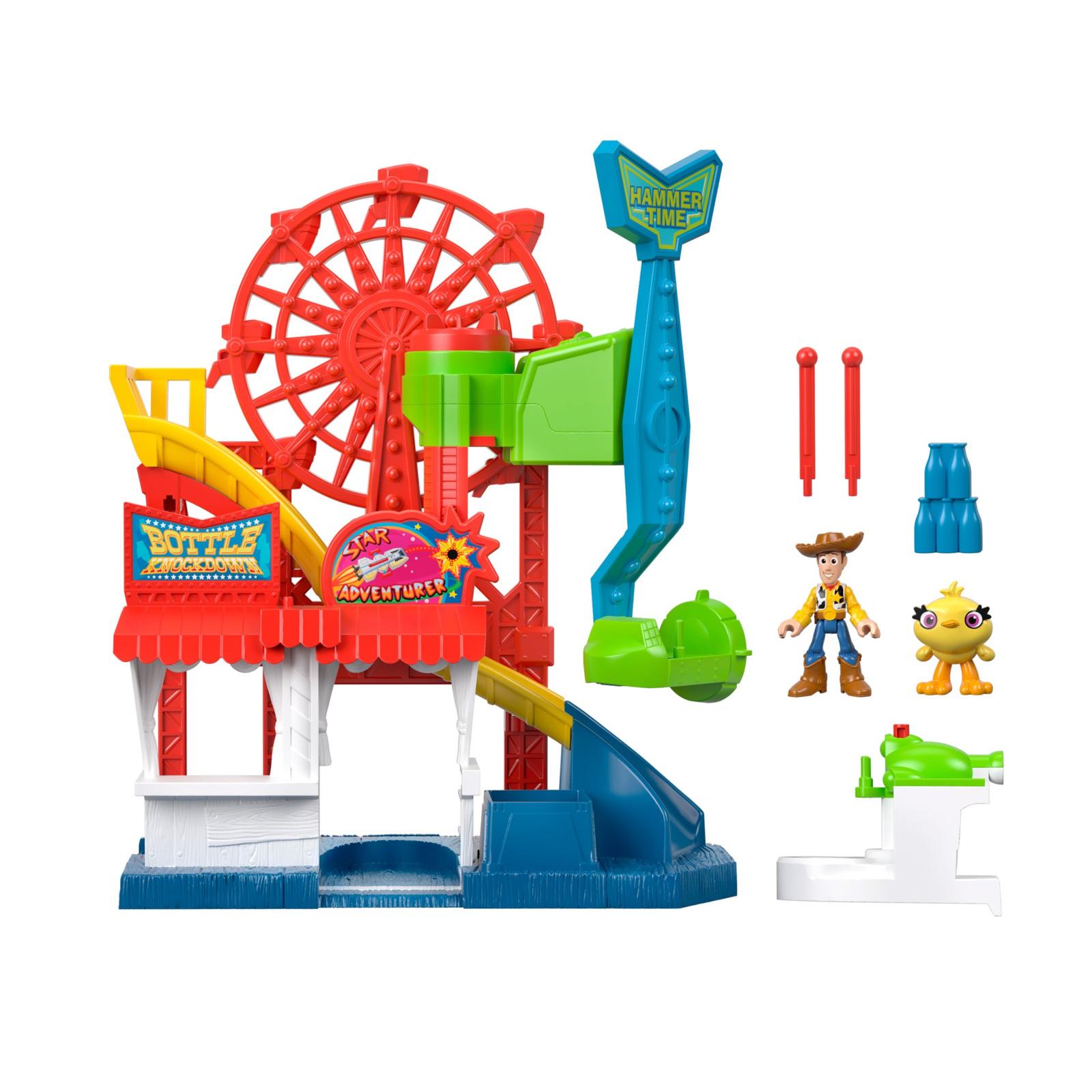 Игровой набор Imaginext История игрушек-4 Карнавал, GBG66 imaginext игровой набор dc super friends feature villain