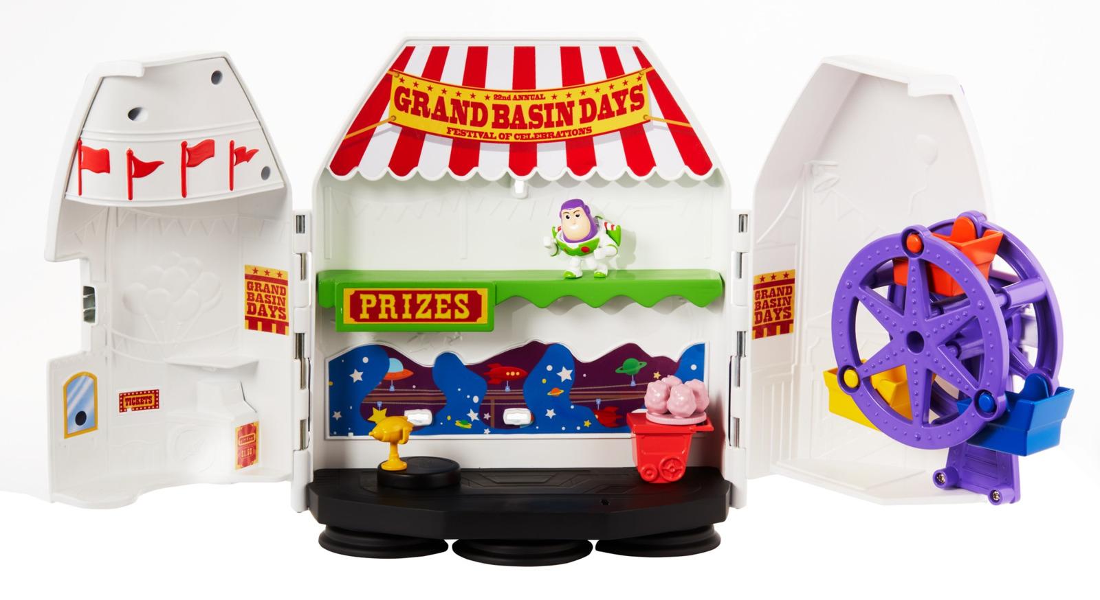 Игровой набор Toy Story История игрушек-4 для мини-фигурок, GCY87