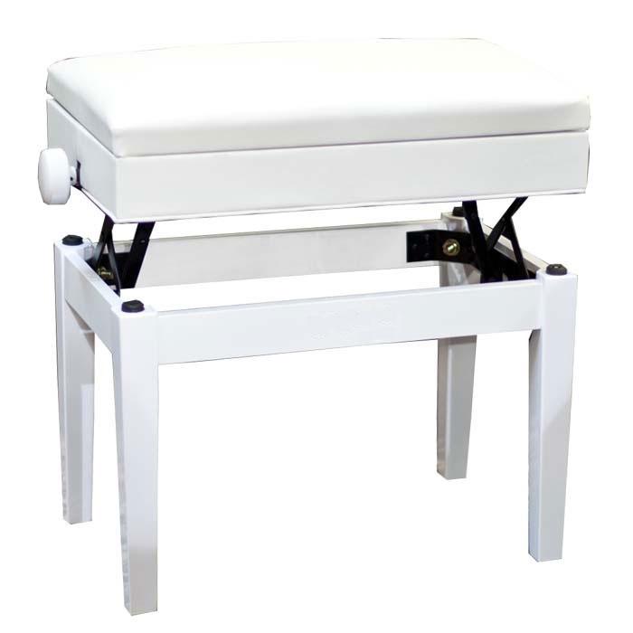Банкетка для музыкальных инструментов BRAHNER BP-150/WH, белый