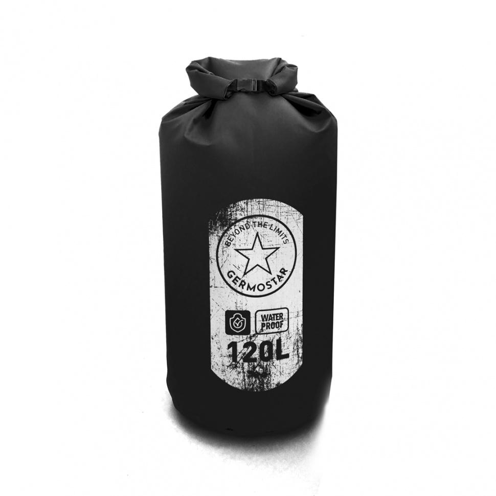 Гермомешок GERMOSTAR PRO пвх литой 120 л, черный холодильник samsung rb6000 с увеличенным полезным объёмом spacemax™ 367 л