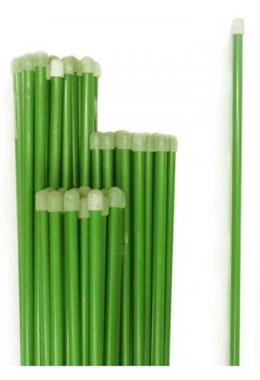 Опора для растений Пикник и Сад колышков садовых, 1м (10шт), зеленый