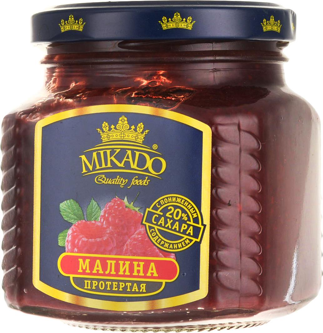 Ягоды перетертые Mikado Малина с содержанием сахара 20%, 270 г mikado mikazuki medium spin 270 5 25 г