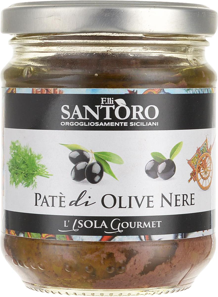 Готовое блюдо Ophellia Паштет из черных оливок Каламата, 180 г