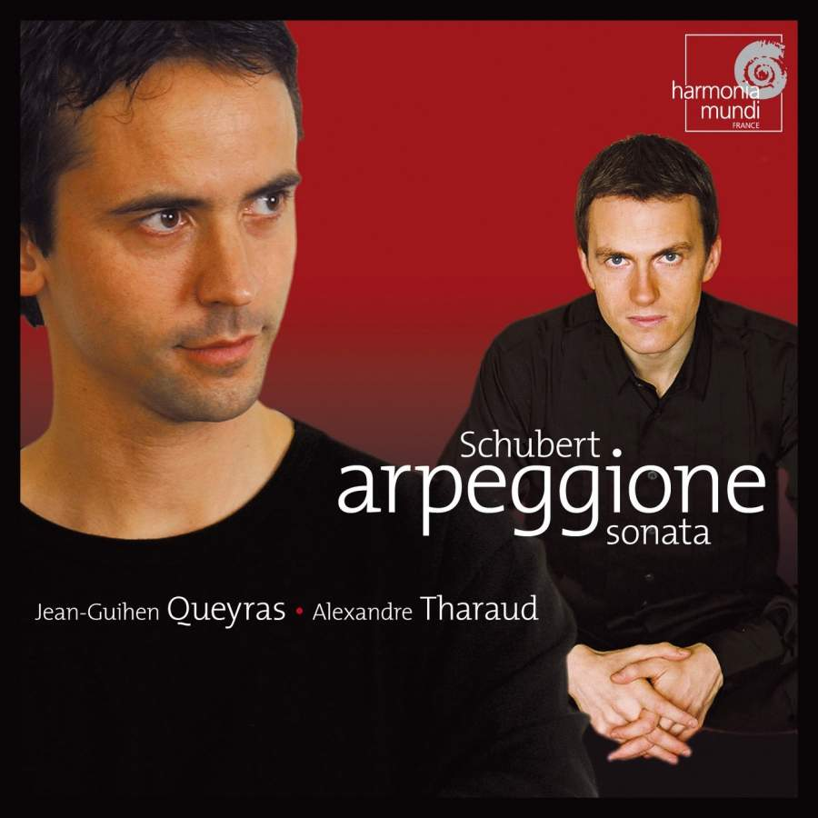 Jean-Guihen Queyras, Alexandre Tharaud. Schubert. Sonate Arpeggione. Sonatine. Berceuse. Berg . Pieces Op. 5 & Webern. Pieces Op. 11 l wallner berceuse