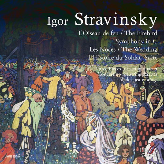 лучшая цена Czech Philharmonic Orchestra, Tokyo String Quartet, Prague Radio Choir. Stravinsky. The Firebird. The Weeding. The Soldier's Tale (2 SACD)