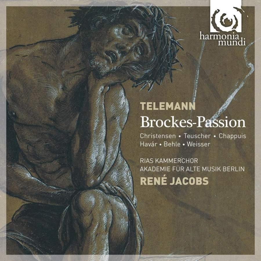 Akademie Fur Alte Musik Berlin, Rene Jacobs. Telemann Georg Philipp. Brockes Passion (2 CD) akademie fur alte musik berlin telemann concerti per molti stromenti