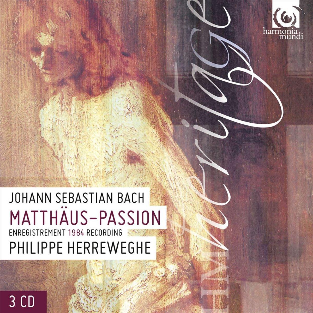 лучшая цена La Chapelle Royale, Collegium Vocale, P. Herreweghe. J. S. Bach. Passion Selon Saint Matthieu (3 CD)