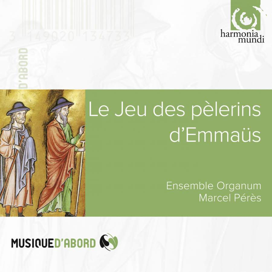 Ensemble Organum, Marcel Peres. Le Jeu Des Pelerins D'Emmaus (Liturgical Drama Of The High Middle Ages) games le jeu des nombres a1