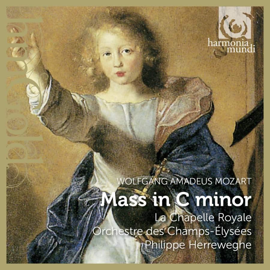 La Chapelle Royale, Collegium Vocale, Orchestre Des Champs-Elysees, P. Herreweghe. Mozart. Mass In C Minor K427 / Meistermusik K477 vincent la chapelle le ventriloque p 1