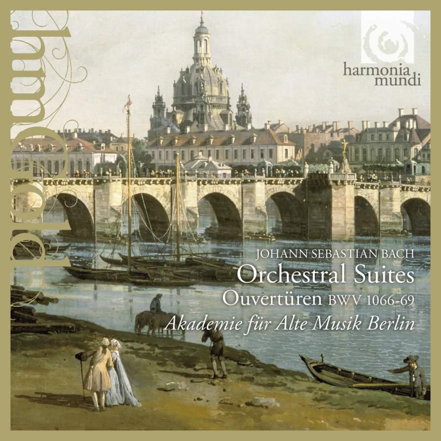 Akademie Fur Alte Musik Berlin. J. S. Bach. Orchestral Suites (2 CD) akademie fur alte musik berlin telemann concerti per molti stromenti