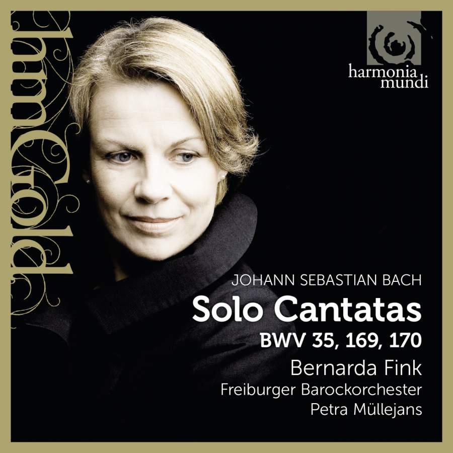 Bernarda Fink, Freiburger Barockorchester, Petra Mullejans. J. S. Bach. Solo Cantatas BWV 35, 169, 170