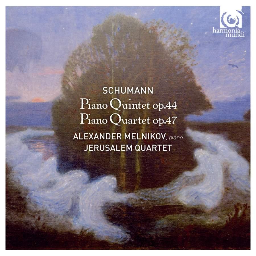 Alexander Melnikov, Jerusalem Quartet. Schumann. Piano Quartet Op. 47 & Piano Quintet Op. 44 w berger piano quintet op 95