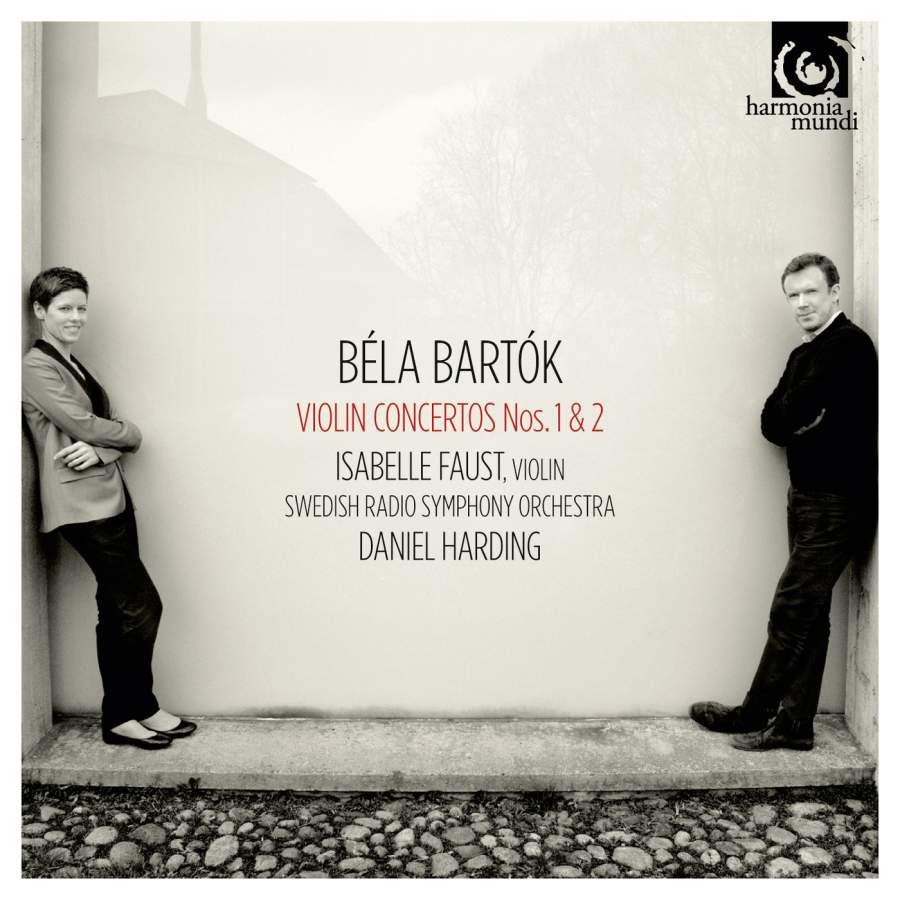 лучшая цена Isabelle Faust, Swedish Radio Symphony Orchestra, Daniel Harding. Bartok, Bela. Violin Concertos Nos 1 & 2