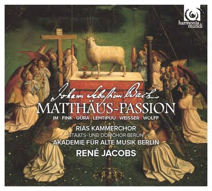 Akademie Fur Alte Musik Berlin, Rene Jacobs. J. S. Bach. Matthaus-Passion BWV 244 (2 SACD) akademie fur alte musik berlin telemann concerti per molti stromenti