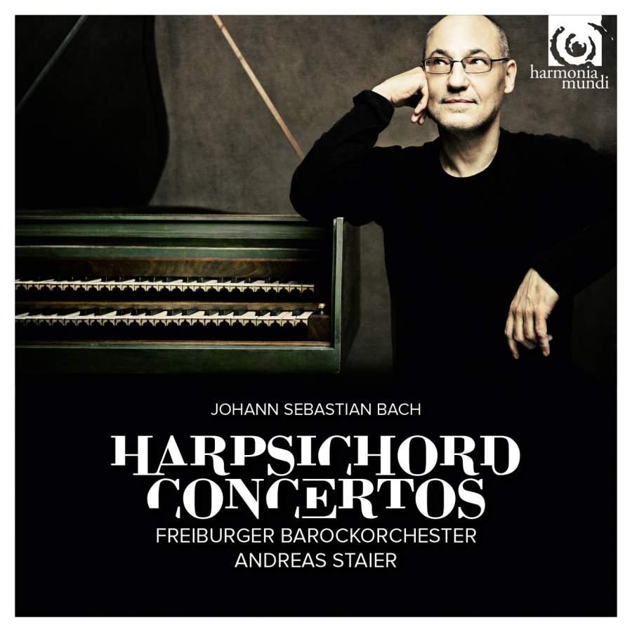 лучшая цена A. Staier, Freiburger Barockorchester, P. Mullejans. J. S. Bach. Harpsichord Concertos BWV 1052-1058 (2 CD)