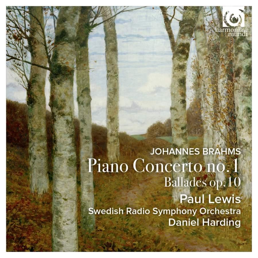 Paul Lewis, Swedish Radio Symphony Orchestra, Daniel Harding. Brahms. Piano Concerto No. 1 & Ballades Op. 10 цена и фото