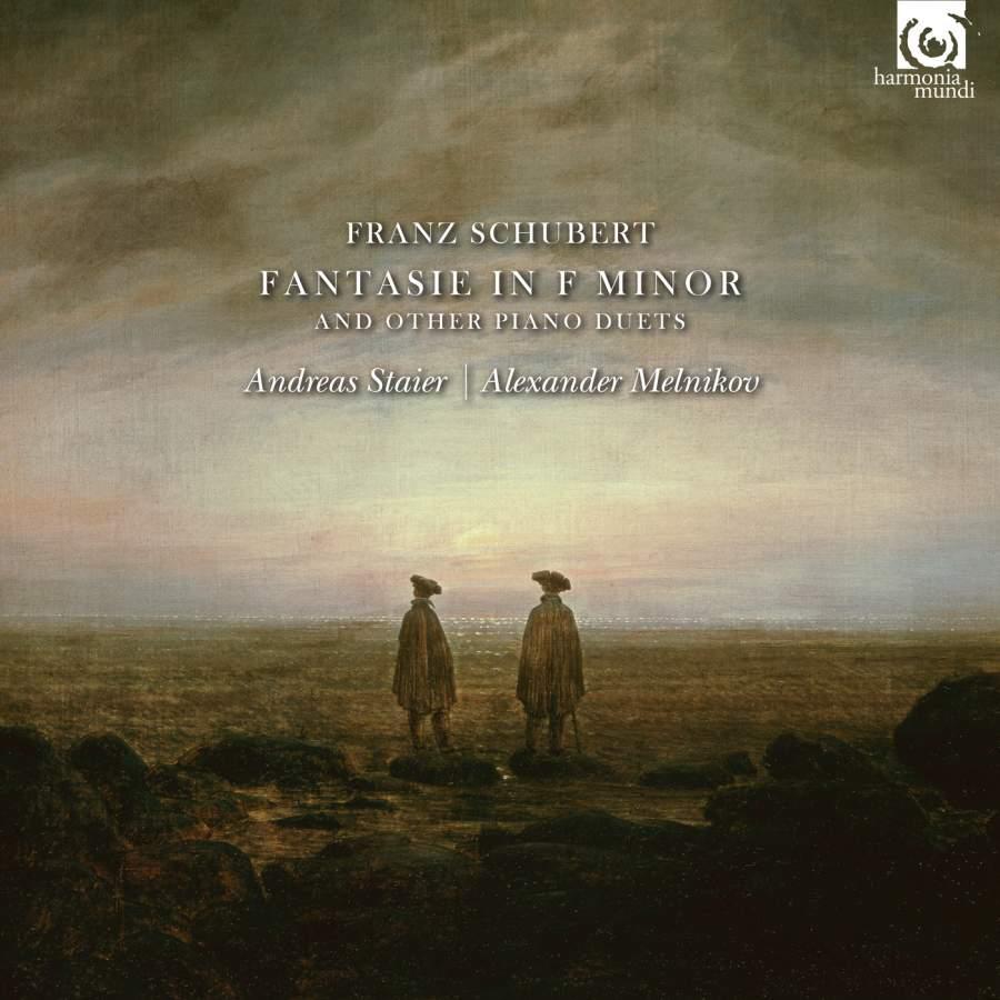 Andreas Staier, Alexander Melnikov. Schubert. Fantasie In F Minor & Other Piano Duets th boehm fantasie sur un air de f schubert op 21