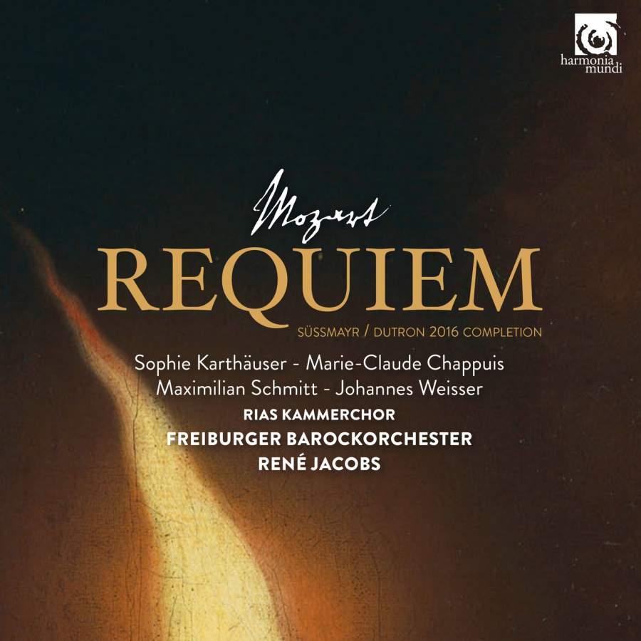 Rene Jacobs. Mozart. Requiem In D Minor, K626 d jacobs prelude in a minor