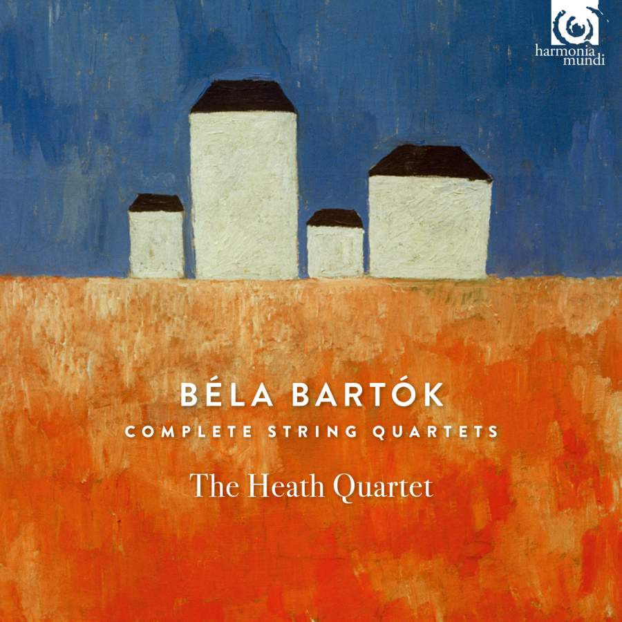 Heath Quartet. Bartok. Complete String Quartets (2 CD) zapolski quartet scandinavian classics zapolski quartet dmitri schostakowitch string quartets no 2
