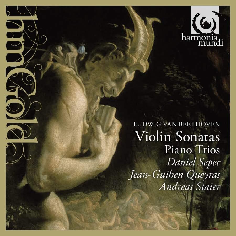 лучшая цена D. Sepec, A. Staier, J.-G. Queyras. Beethoven. Violin Sonatas Nos 4 & 8. Piano Trio Nos 3-5 (2 CD)