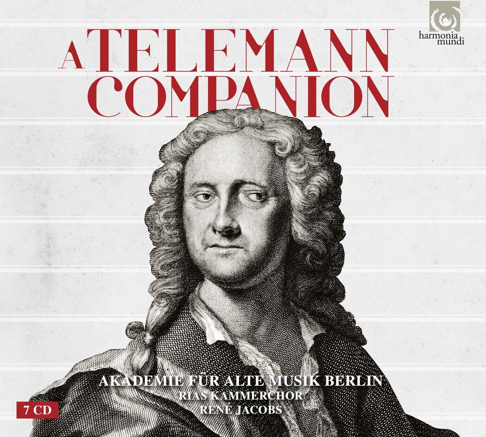 Akademie Fur Alte Musik Berlin. A Telemann Companion (7 CD) akademie fur alte musik berlin telemann concerti per molti stromenti