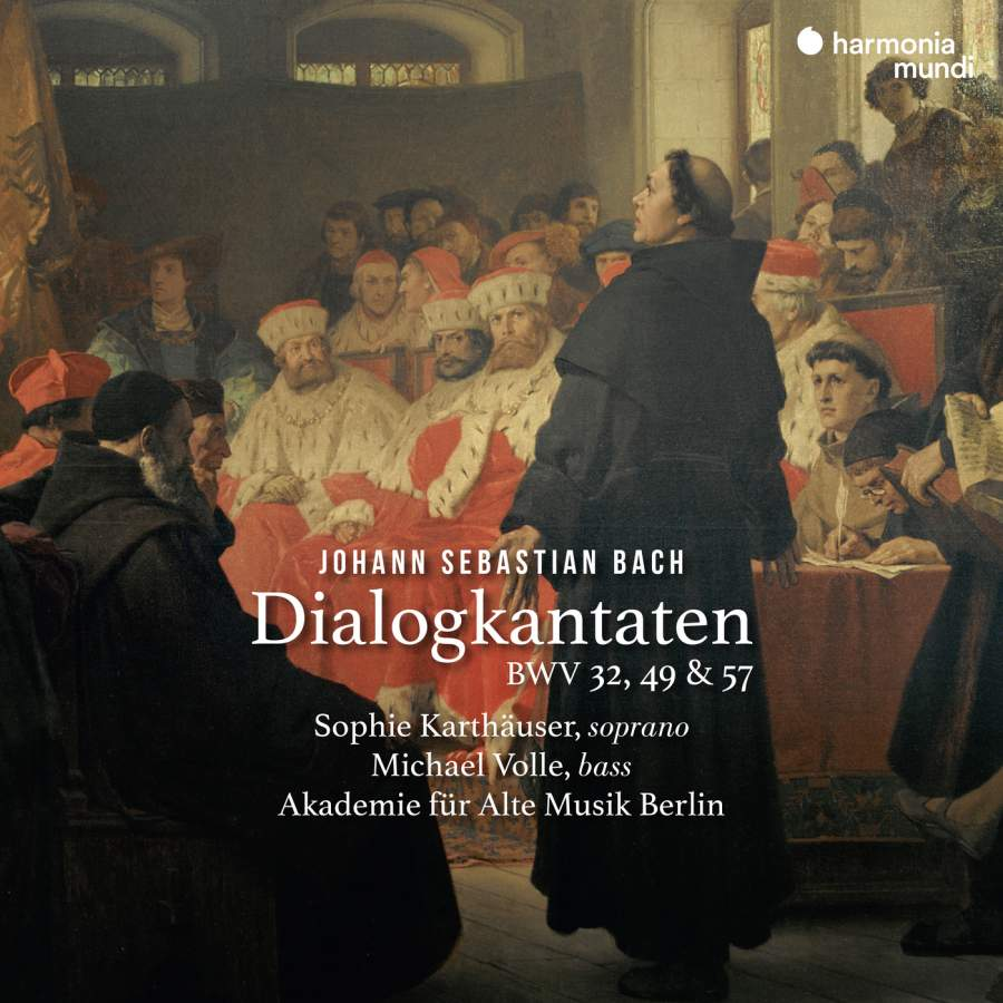 Karthauser & Volle & Akademie Fur Alte Musik Berlin. Bach. Dialogue Cantatas, BWV 32, 49 & 57 akademie fur alte musik berlin telemann concerti per molti stromenti