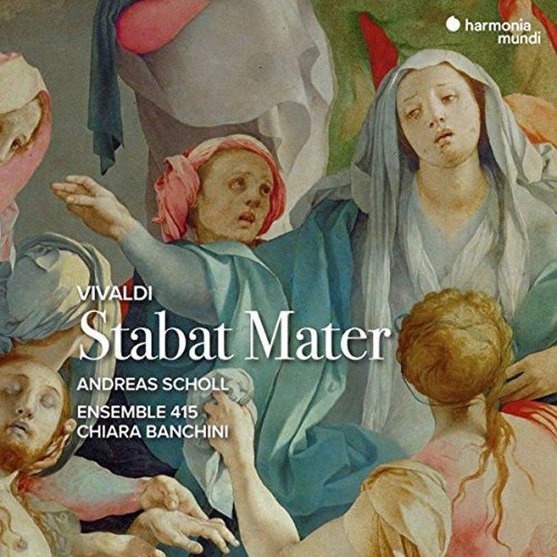 лучшая цена Andreas Scholl Ensemble 415 Chiara Banchini. Stabat Mater