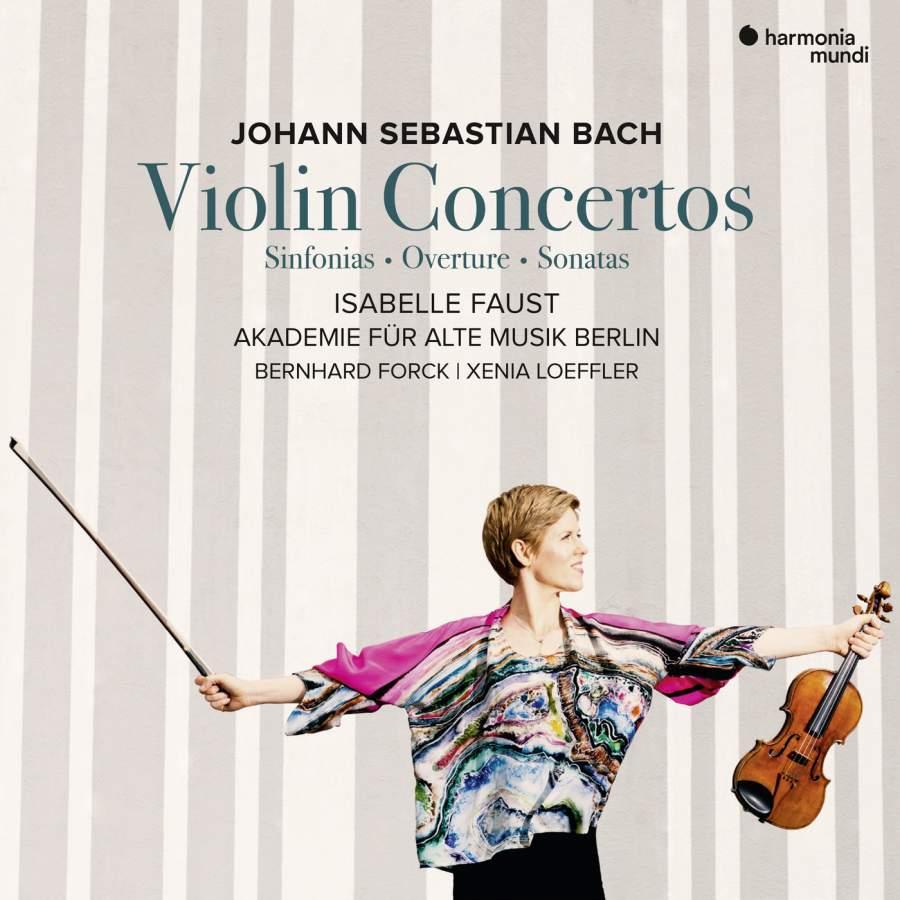Isabelle Faust, Akademie Fur Alte Musik Berlin. J. S. Bach Violin Concertos (2 CD) akademie fur alte musik berlin telemann concerti per molti stromenti