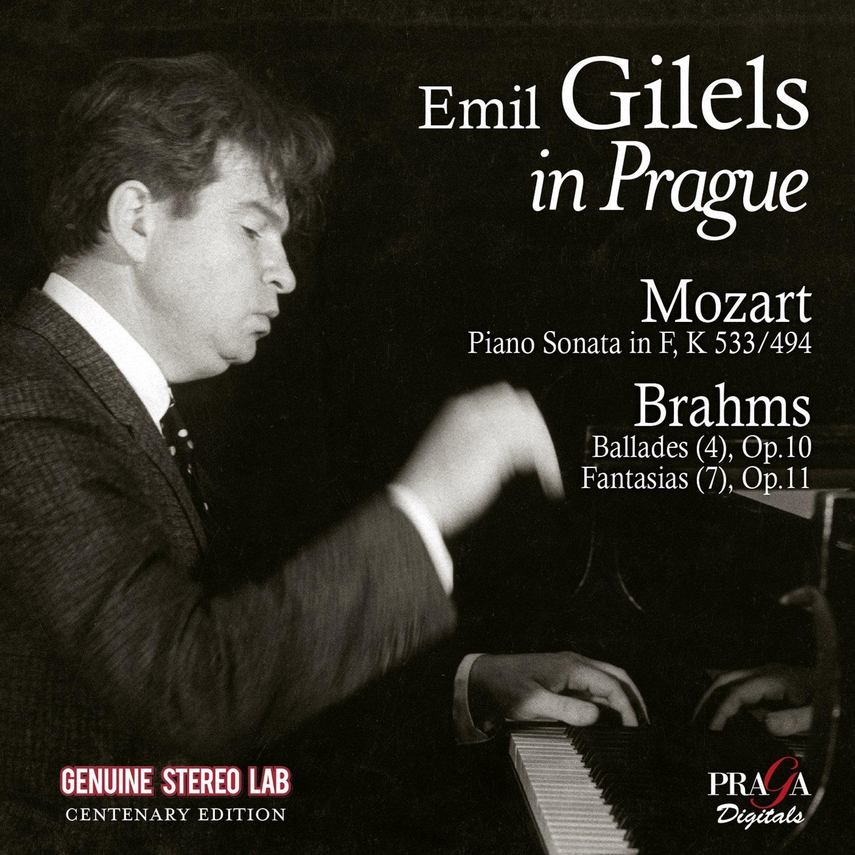 Emil Gilels. Gilels In Prague. Mozart, Brahms