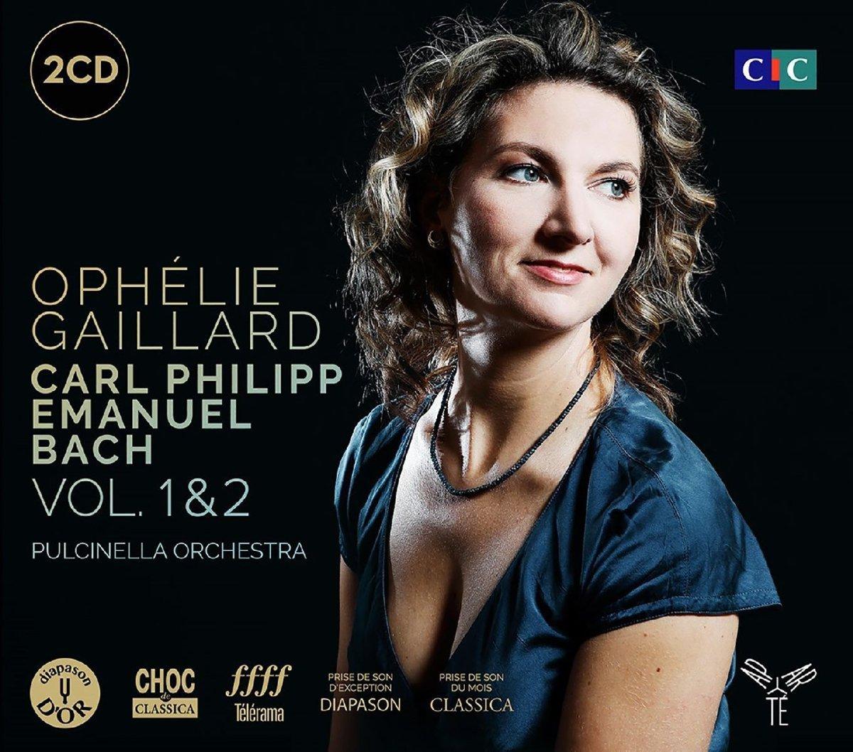лучшая цена O. Gaillard, Ens. Pulcinella. Cpe Bach Coffret Vol 1 & 2 (2 CD)