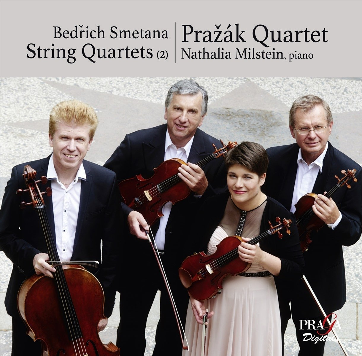 лучшая цена Prazak Quartet Natalia Milstein. String Quartet No.1 String Quartet (SACD)