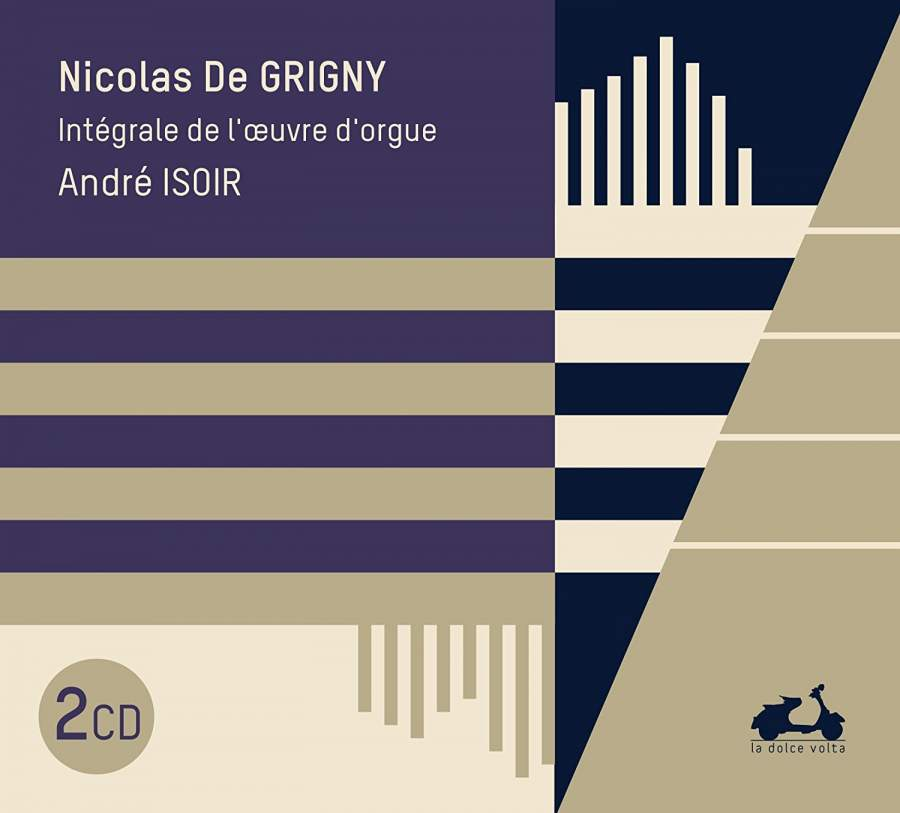 Andre Isoir. Grigny. Complete Organ Works (2 CD) мари клэр элэйн адольф буш sankt nicolai kirke marie claire alain bach complete works for organ 15 cd