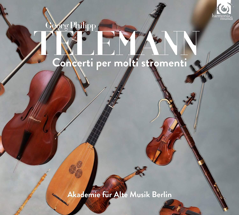 Akademie Fur Alte Musik Berlin. Telemann. Concerti Per Molti Stromenti akademie fur alte musik berlin telemann concerti per molti stromenti