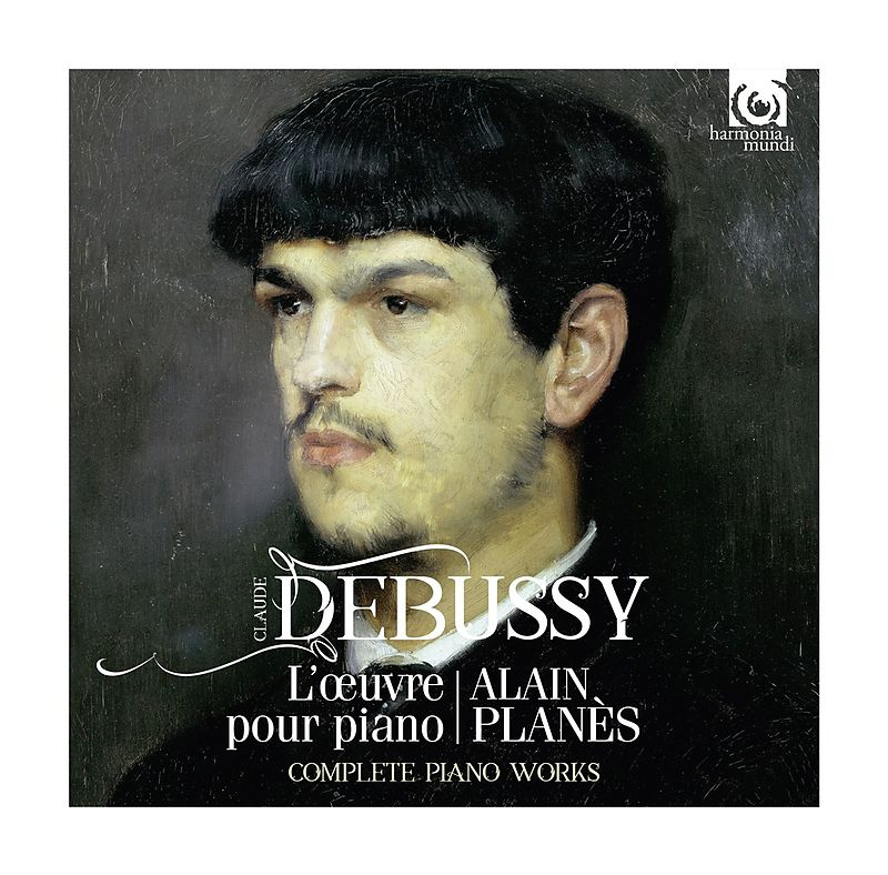 Alain Planes. Debussy. The Complete Work For Piano (5 CD) мари клэр элэйн адольф буш sankt nicolai kirke marie claire alain bach complete works for organ 15 cd