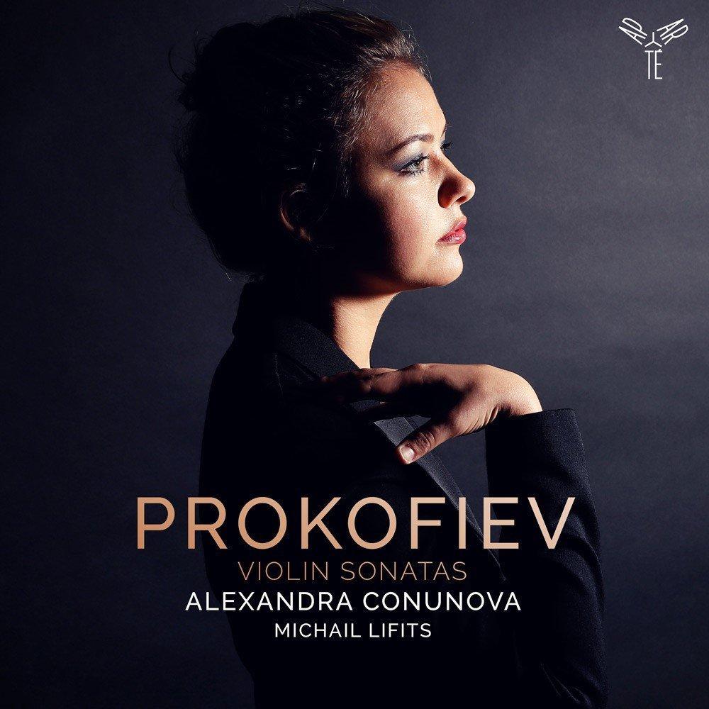 Alexandra Conunova & Michail Lifits. Prokofiev. Violin Sonatas No. 1 & 2 michail roscin spomienka na annu