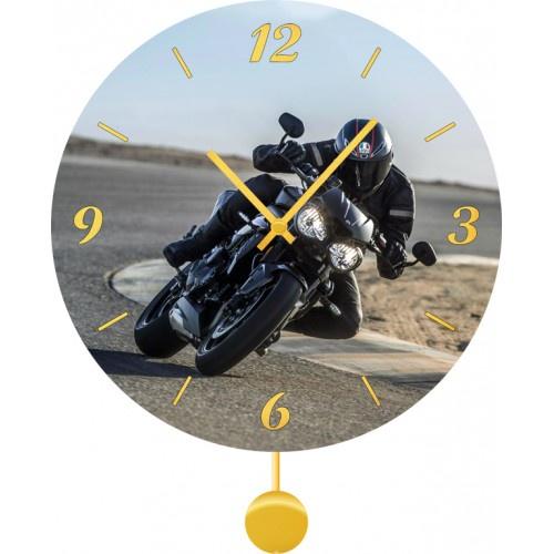 Настенные часы Kitch Clock 40120164012016Механизм: Кварцевый. Корпус: Дерево. Размер: Диаметр 40 см