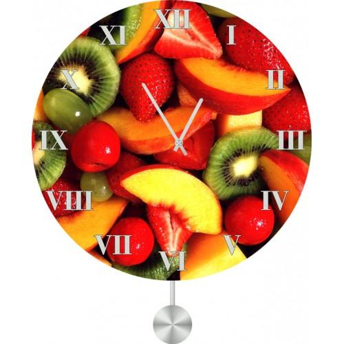 Настенные часы Kitch Clock 40120854012085Механизм: Кварцевый. Корпус: Дерево. Размер: Диаметр 40 см