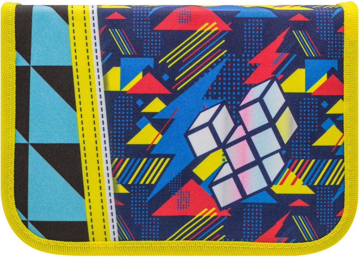 Пенал Tiger Family Nature Quest, с наполнением, 19001/B/TG, разноцветный портфель ортопедический tiger enterprise tiger max разноцветный в ассортименте 3603 tg 3603 tg